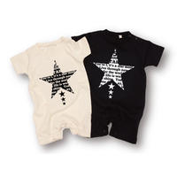 「STAR」ロンパース/BABY/70/80