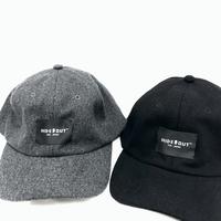 LOGO NAME WOOL BASEBALLCAP / black / grey / free