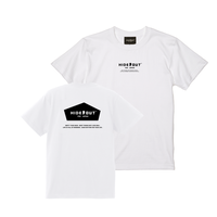 1POINT×BACKPRINT「BASIC-LOGO」 WHITE / s / m / l / xl
