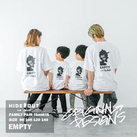 「EMPTY」Tシャツ/KIDS/90/100/120/140