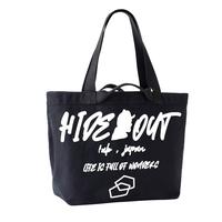 HEAVY ONZ BIG TOTE BAG「LOGO」BLACK