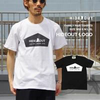 「HIDEOUT LOGO」Tシャツ/UNISEX/WM/S/M/L/XL