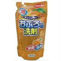 詰替用おふろの洗剤泡オレンジオイル配合 350ml