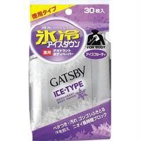 ギャツビー アイスデオドラントボディペーパー アイスフルーティ 徳用 30P (医薬部外品)