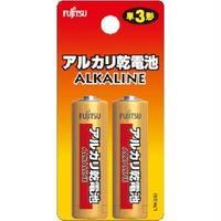 富士通アルカリ乾電池単3×2個LR6H(2B)