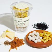 黒米ライスクラッカー(あられ)カレー&チーズ