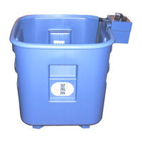 サーモスタット機能付き足湯器(深型)