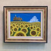 「夏の訪れ」6号テンペラ画
