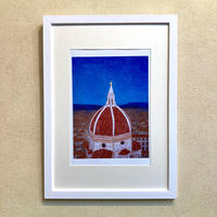 「花の聖母寺を望む」オリジナル・ジクレーアート