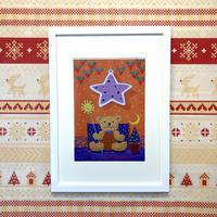 「希望の星とともに」オリジナル・ジクレーアート