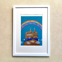 「希望の虹」オリジナル・ジクレーアート