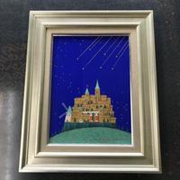 「七つの流星」テンペラ画