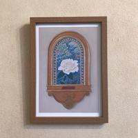 「バラの園」オリジナル・プリントアート作品