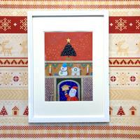 「楽しいクリスマス」オリジナル・ジクレーアート