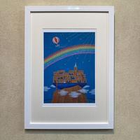 「虹の彼方」オリジナル・ジクレー作品