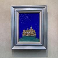 「七つ星」テンペラ画