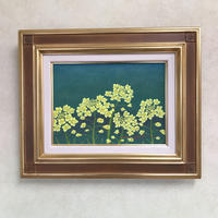 「菜の花」テンペラ画