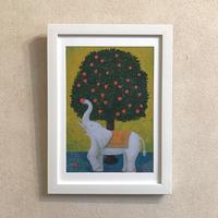 「収穫」オリジナル・プリントアート作品