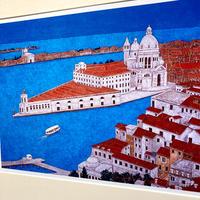「ベネチアの光景」オリジナル・ジクレーアート