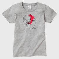 マフラー Tシャツ(グレー)