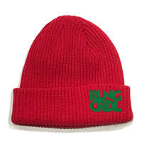 ROLLINGCRADLE RLNGCRDL KNIT CAP / RED