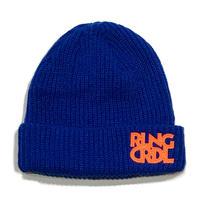 ROLLINGCRADLE RLNGCRDL KNIT CAP / BLUE