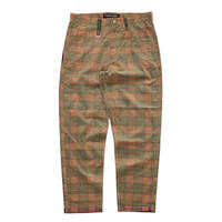 ROLLING CRADLE CHECK TEPARD PANTS