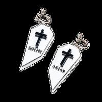 Coffin Earring or Pierce