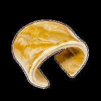 Looping Bangle (Camel)