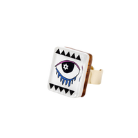 MIRAGE RING(HEXAGRAM EYE)