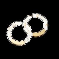 Circle Earcuff (Clear)
