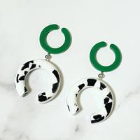 Bicolor Earcuff(Green)