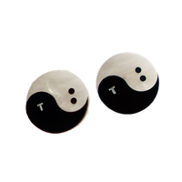 TB YIN AND TANG PIERCE/EARRING