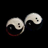 TB YIN AND TANG PIERCE/EARRING
