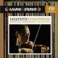プロコフィエフ:ヴァイオリン協奏曲第2番 ヤッシャ・ハイフェッツ ハイレゾ DSD 2.8MHz