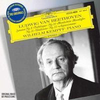 ベートーヴェン:ピアノ・ソナタ「悲愴」「月光」「熱情」ヴィルヘルム・ケンプ  ハイレゾFLAC 24bit/96kHz