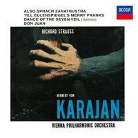 R.シュトラウス 交響詩《ツァラトゥストラはかく語りき》 カラヤン&ウィーン・フィル ハイレゾDSD 2.8MHz