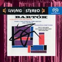 バルトーク:弦楽器、打楽器とチェレスタのための音楽 フリッツ・ライナー ハイレゾ DSD 2.8MHz