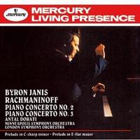 ラフマニノフ:ピアノ協奏曲第3番 バイロン・ジャニス ハイレゾ DSD 2.8MHz