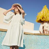 Yellowpelota / Vega Dress  - White