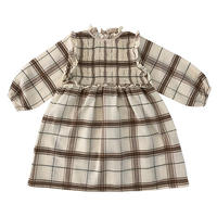 liilu / Smocked Ada Dress - Chenille check  2Y / 4Y