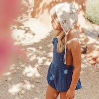 liilu / Niki Romper - Ocean Blue