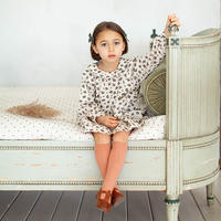 SOOR PLOOM / Faye Dress - PRAIRIE PRINT - MILKWEED