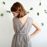 SOOR PLOOM / Orla Dress - GINGHAM