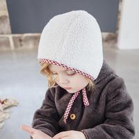 Bertille&Léon / Reversible bonnet - RED VICHY