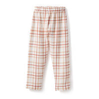 na pa ani / PELAYO Unisex Pants - Organic cotton gauze red squares
