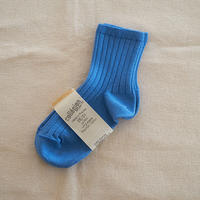 Collégien / La Mini Ribbed Ankle Socks - Cobalt
