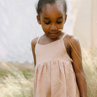 Nellie Quats / Daisy Chain Dress - Clay Linen