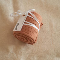 Collégien / La Haute Ribbed Knee-High Socks - Rosewood