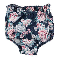 tocoto vintage / Ruffled high waist swim culotte